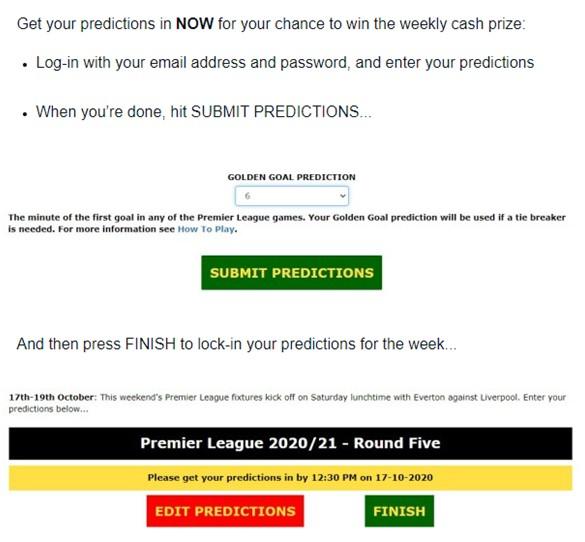 Predictor Guide